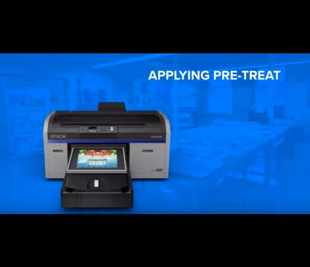 Epson F2100 'White' Digital Garment Printer | ITNH